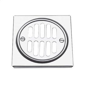 Polished Nickel - Natural Shower Drain Trim Set
