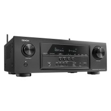 7.2 Channel Full 4K Ultra HD AV Receiver with built-in Wi-Fi and Bluetooth ® , Dolby Atmos, DTS:X, HDCP2.2, HDR, Audyssey MultEQ, 6/1 HDMI In/Out