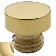 Non-Lacquered Brass Button Finial