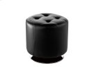 Domani Swivel Ottoman Small - Onyx Product Image