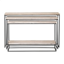 Lowell Nested Console Tables S/3