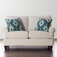 Custom Upholstery Medium Loveseat