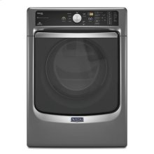 Maytag® Maxima® Steam Gas Dryer with Large Capacity and Stainless Steel Dryer Drum - 7.3 cu. ft. - Metallic Slate