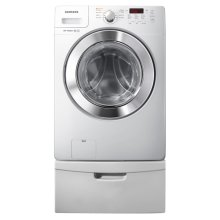 3.6 cu. ft. Large Capacity Front Load Washer (White)