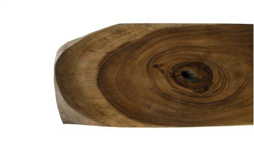 Chamcha Wood Console Table, Medium