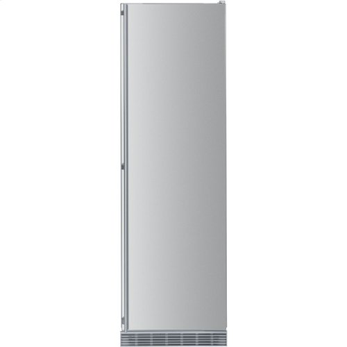"""24"""" Built-in All Refrigerator Stainless Door right hinge"""