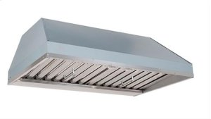 """60"""" Custom Hood Liner Insert designed for outdoor cooking in covered lanais"""