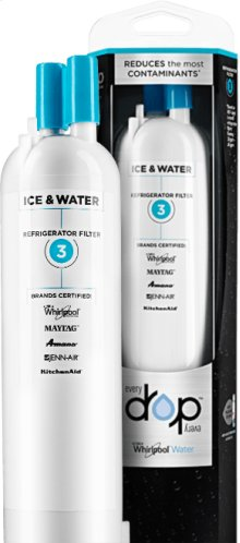EveryDrop Ice & Water Refrigerator Filter 3