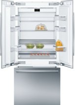 """Benchmark® Benchmark®, 36"""" Built-In French Door Refrigerator with Home Connect, , Stainless Steel"""