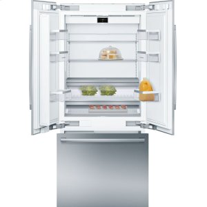 "Bosch BenchmarkBENCHMARK SERIESBenchmark® Benchmark®, 36"" Built-In French Door Refrigerator with Home Connect, B36BT930NS, Stainless Steel"