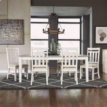 7 Piece Rectangular Table Set