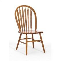 Dining - Classic Oak Plain Arrow Back Side Chair Product Image