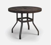 "42"" Round Balcony Table Ht: 34"" 37XX Universal Aluminum Base (Model # Includes Both Top & Base) Product Image"