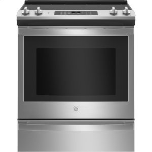 """GEGE® 30"""" Slide-In Electric Convection Range with No Preheat Air Fry"""