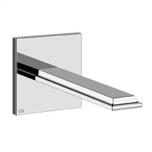 """Wall-mounted washbasin spout only Projection 8-3/4"""" 1/2"""" connections Drain not included - See DRAINS section Requires mixer control 48106+48112 Max flow rate 1"""