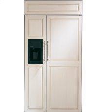 "GE Monogram® 42"" Built-In Side-by-Side Refrigerator with Dispenser"