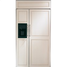 "GE Monogram® 42"" Built-In Side-by-Side Refrigerator with Dispenser"
