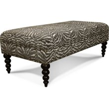 Locryn Cocktail Ottoman with Nails 3V07N