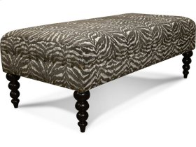 Locryn Ottoman with Nails 3V07N