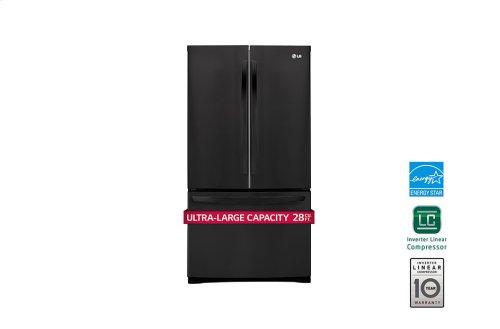 28 cu. ft. Ultra Capacity 3-Door French Door Refrigerator w/Smart Cooling®
