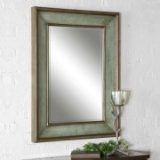 Ogden Blue Vanity Mirror Product Image