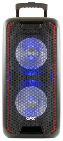 "2x10"" Portable Party Speaker"