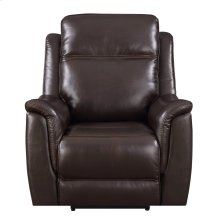SU-BO13 Collection  Recliner with Power Headrest and Lumbar  Espresso