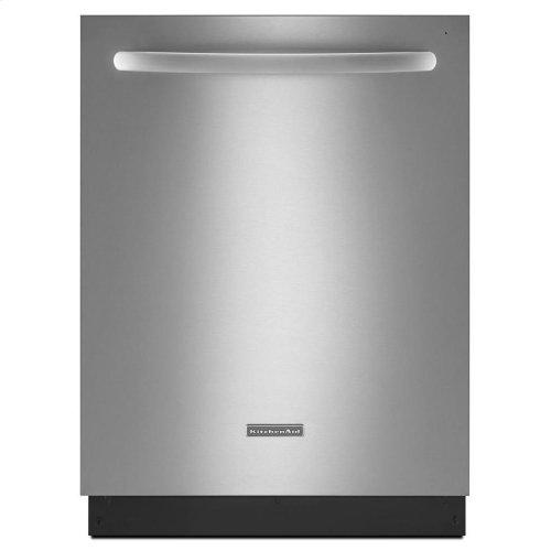 KitchenAid® 24-Inch 4-Cycle/6-Option Dishwasher, Architect® Series II - Black
