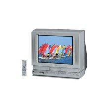 "20"" diagonal PureFlat Picture Tube TV/DVD Combination"