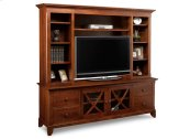 """Florence 83"""" HDTV Cabinet with Hutch"""