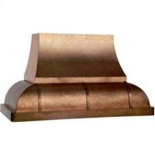 """42"""" 600 CFM Designer Series Range Hood 10' Ceiling Overlay"""
