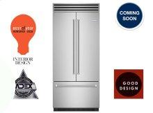 "36"" PRO Built-in Refrigerator/Freezer with French Door"