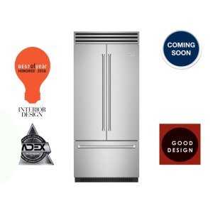 "Bluestar36"" PRO Built-in Refrigerator/Freezer with French Door"