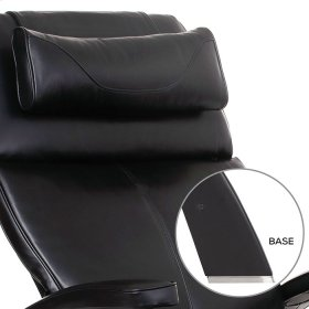 Perfect Chair PC-610 - Black Premium Leather - Matte Black