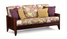 Justine Sofa, Fabric Cushion Seat