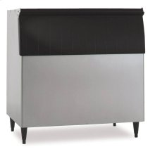"44"" W Ice Storage Bin - Stainless Steel Exterior"