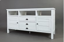 "Artisan's Craft 60"" TV Console - Weathered White"