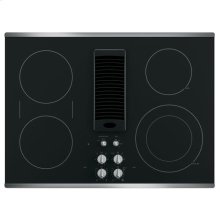 "GE Profile Series 30"" Downdraft Electric Cooktop"