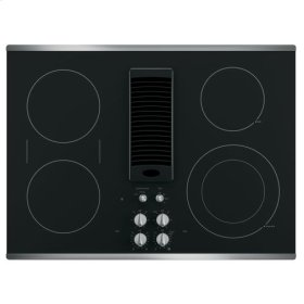 "GE Profile 30"" Downdraft Electric Cooktop"