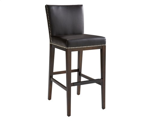 Vintage Barstool - Brown
