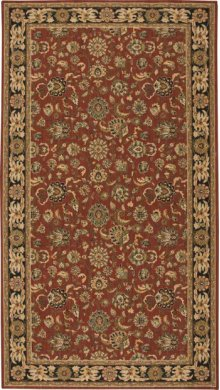 Hard To Find Sizes Grand Parterre Pt01 Rust Rectangle Rug 9' X 13'