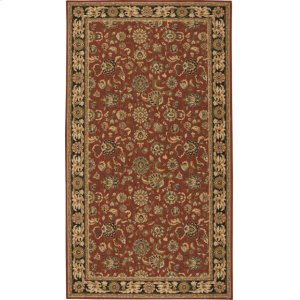 Hard To Find Sizes Grand Parterre Pt01 Rust Rectangle Rug 5'6'' X 7'6''