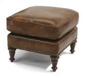 Flemington Leather Ottoman