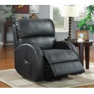 Casual Black Power Lift Recliner Product Image