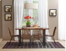 Urban Dweller Rattan and Metal Dining Chair Product Image