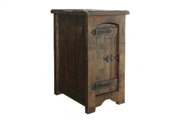 Chair Side Table w/1 Door
