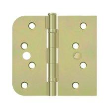 "Special Hinge for Fiber Glass Doors, 4"" x 4 1/4"" x 5/8"" Radius x SQ, Ball Bearings, Security Stud - Zinc Dichromate"