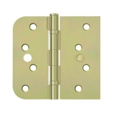 "Special Hinge for Fiber Glass Doors, 4"" x 4 1/4"" x 5/8"" Radius x SQ, Ball Bearings, Security Stud - Zinc Dichromate"