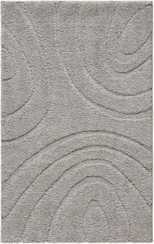 Jaspar Jasp1 Silver Rectangle Rug 3'2'' X 5'