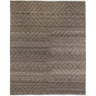 9'x12' Size Natural Diamond Patterned Wool Rug Product Image